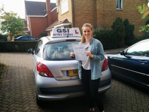Well done Lisa for passing with GSI!
