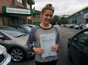 Well done Ellie for passing with GSI!
