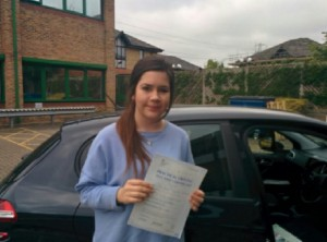 Well done Georgie for passing with GSI!