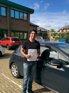 Well done Sachin for passing with GSI!