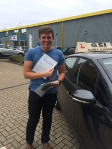Well done Henry for passing with GSI!