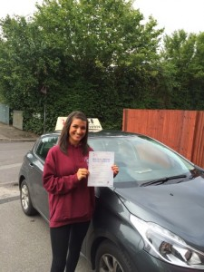 Well done Henna for passing with GSI!