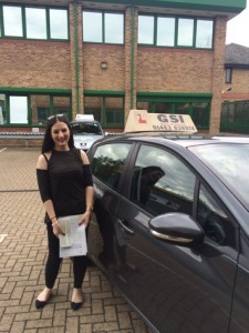 Well done Tara for passing with GSI!