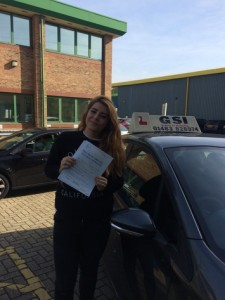 Well done Georgia for passing with GSI!