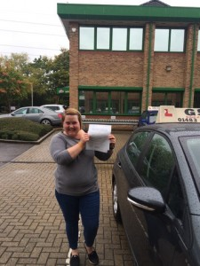 Well done Emma for passing with GSI!