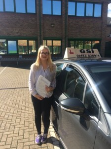 Well done Alice for passing with GSI!