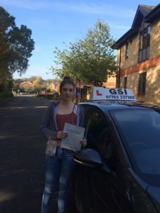 Well done Becky for passing with GSI!