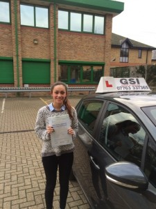 Well done Jemima for passing with GSI!