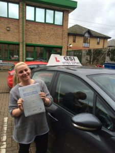 Well done Daniella for passing with GSI!