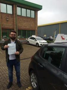 Well done passing for with GSI!