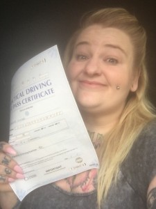 Well done Kayleigh for passing with GSI!