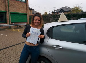 Well done Sarah Jayne for passing with GSI!