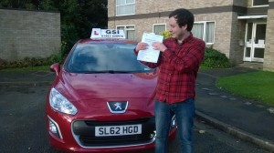 Well done Matthew for passing with GSI!