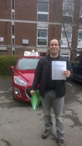 Well done Gabriel for passing with GSI!