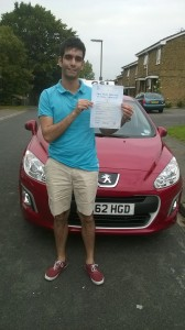 Well done Tim for passing with GSI!