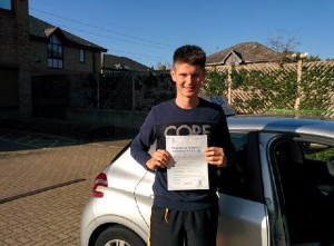 Well done Michael for passing with GSI!