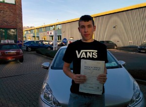Well done James for passing with GSI!