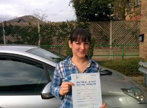 Well done Madelina for passing with GSI!