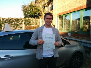 Well done Ben for passing with GSI!