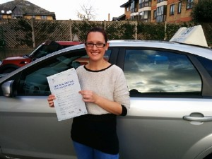 Well done Hannah for passing with GSI!