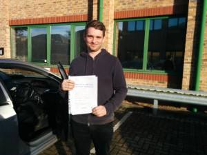 Well done Tom for passing with GSI!