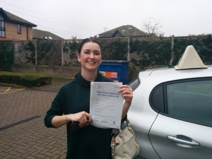 Well done Sacha for passing with GSI!