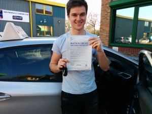 Well done Christian for passing with GSI!