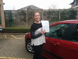 Well done Gemma for passing with GSI!