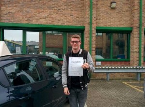 Well done Joe for passing with GSI!