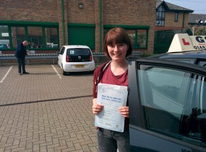 Well done Lauren for passing with GSI!