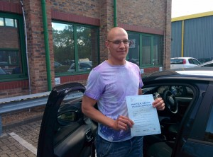Well done Mike for passing with GSI!